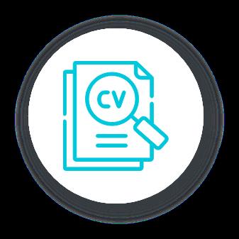 C.V. Icon
